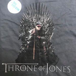 """NWT Atlanta Braves """"Throne of Jones"""" T-shirt"""